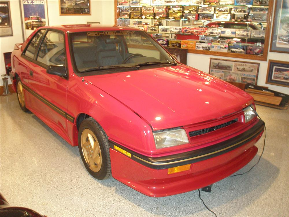 1989 DODGE SHADOW SHELBY CSX-T 2 DOOR SEDAN - Front 3/4 - 98132