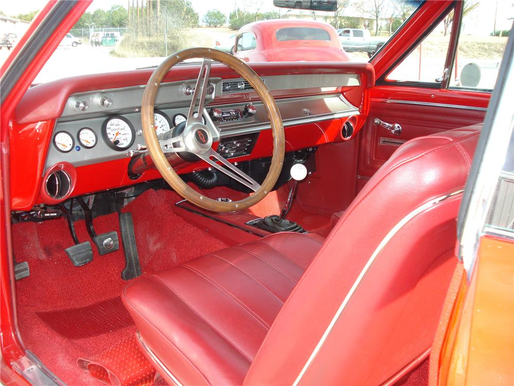 1966 CHEVROLET CHEVELLE CUSTOM 2 DOOR HARDTOP - Interior - 98135