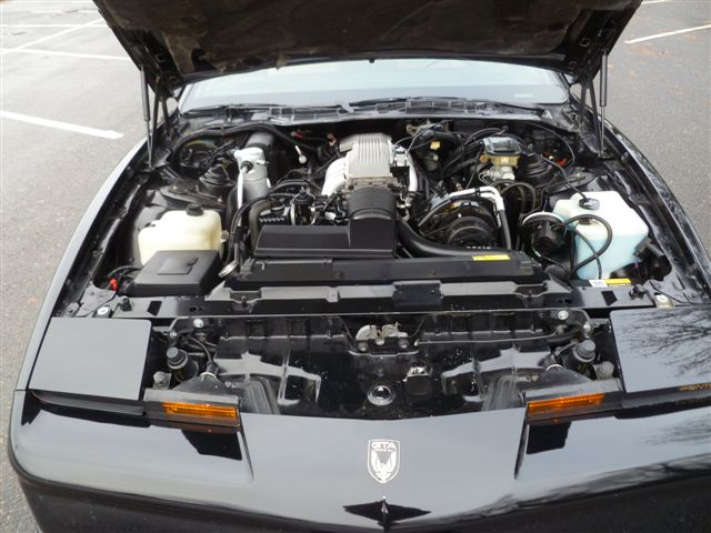 1987 PONTIAC FIREBIRD TRANS AM GTA 2 DOOR COUPE - Engine - 98136