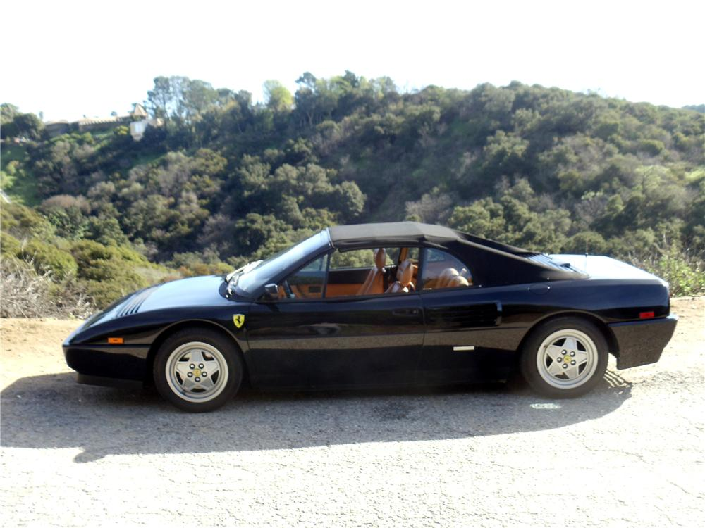 1993 FERRARI MONDIAL T CONVERTIBLE - Side Profile - 98159