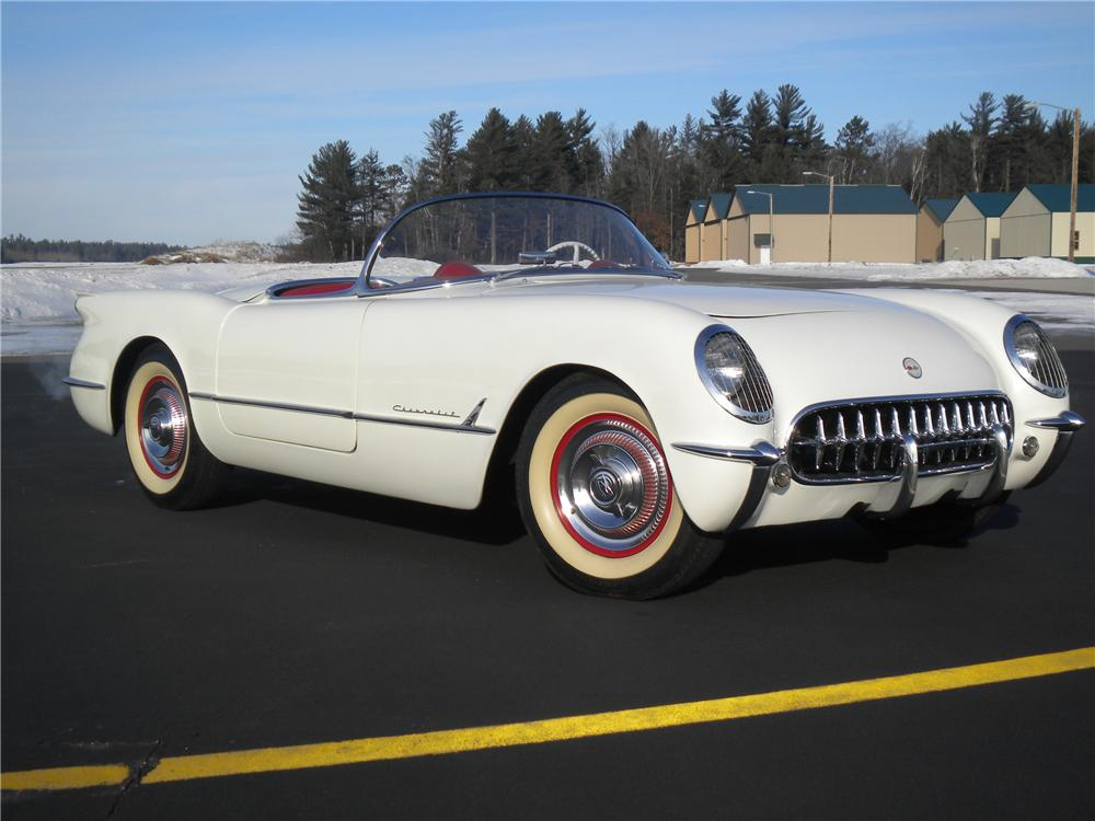 1954 CHEVROLET CORVETTE CONVERTIBLE - Front 3/4 - 98168