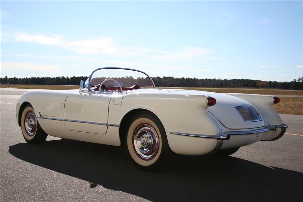 1954 CHEVROLET CORVETTE CONVERTIBLE - Rear 3/4 - 98168