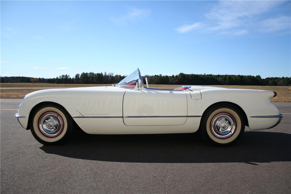 1954 CHEVROLET CORVETTE CONVERTIBLE - Side Profile - 98168