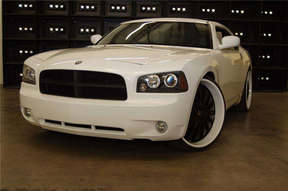 "2007 DODGE CHARGER ""WEST COAST CUSTOMS"" COUPE - Front 3/4 - 98171"