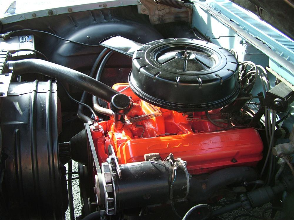 1960 CHEVROLET IMPALA 4 DOOR SEDAN - Engine - 98172