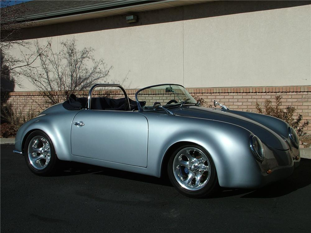 1955 PORSCHE SPEEDSTER RE-CREATION CONVERTIBLE - Front 3/4 - 98174