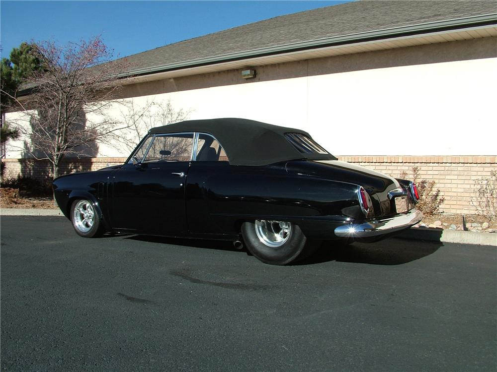 1950 STUDEBAKER CUSTOM CONVERTIBLE - Rear 3/4 - 98175