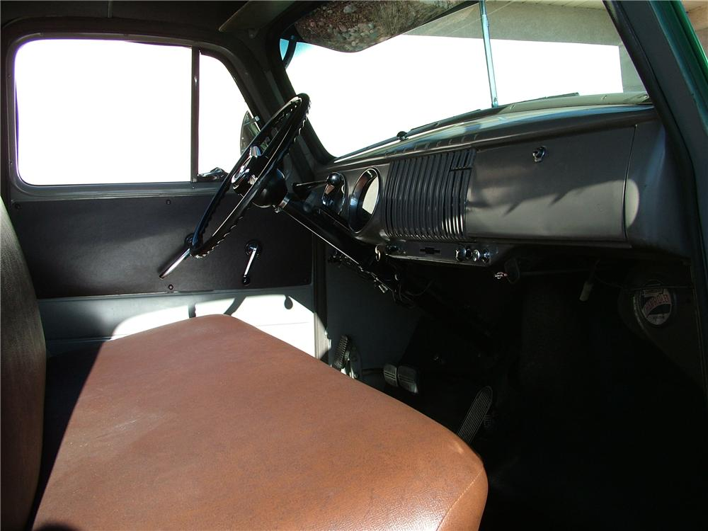 1954 CHEVROLET 3100 PICKUP - Interior - 98176