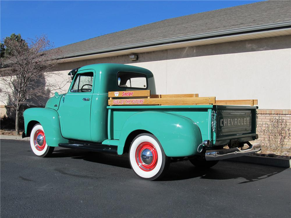 1954 CHEVROLET 3100 PICKUP - Rear 3/4 - 98176