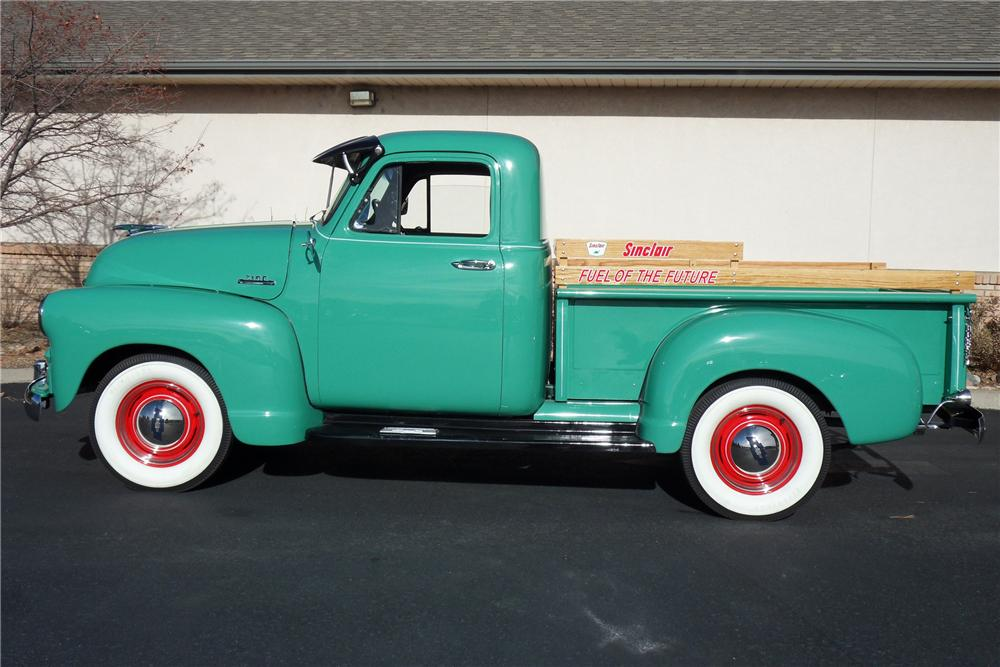 1954 CHEVROLET 3100 PICKUP - Side Profile - 98176