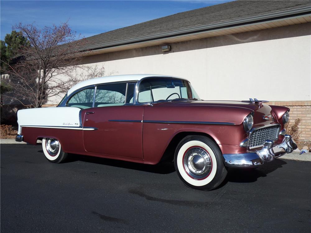 1955 chevrolet bel air 2 door hardtop 98179