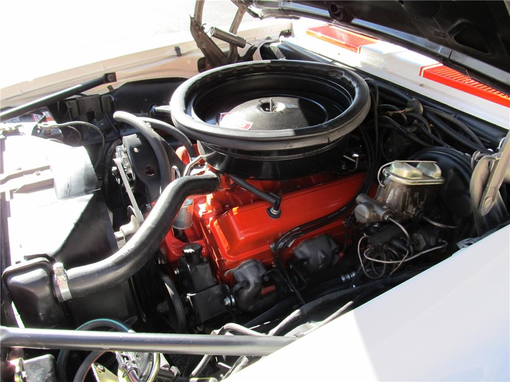 1969 CHEVROLET CAMARO INDY PACE CAR CONVERTIBLE - Engine - 98181