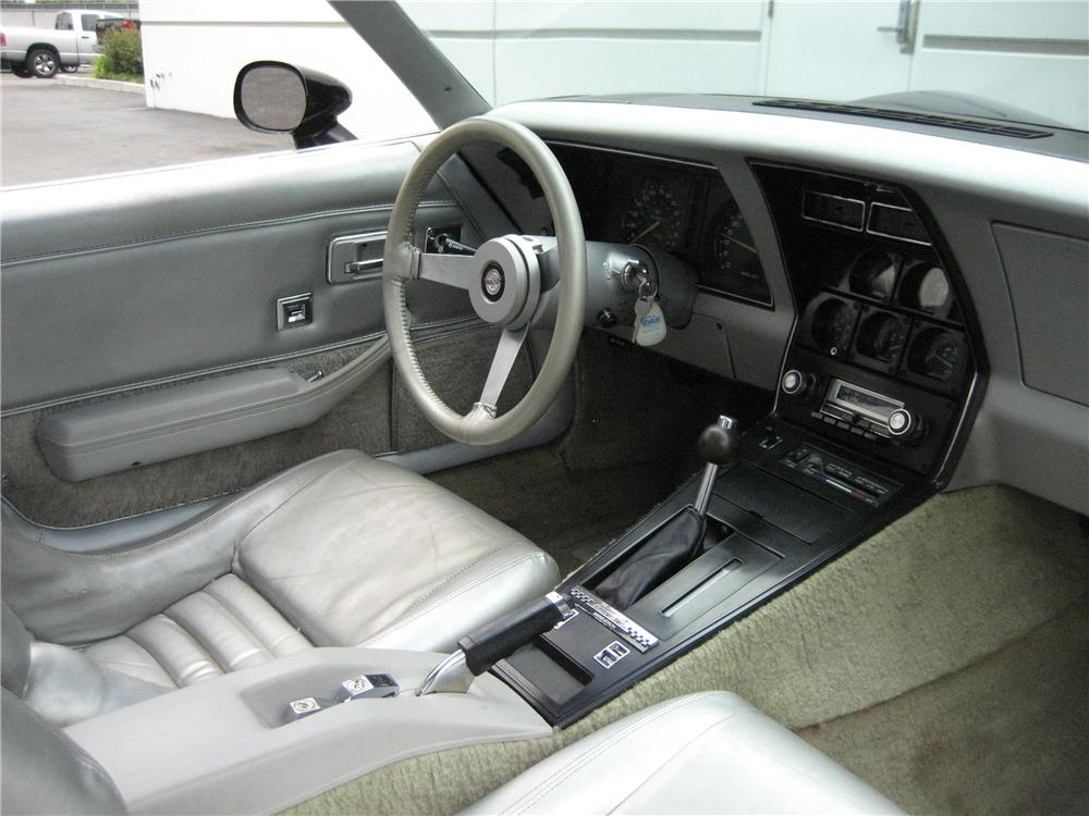 1978 CHEVROLET CORVETTE LIMITED EDITION PACE CAR COUPE - Interior - 98573
