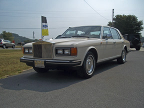 1986 ROLLS-ROYCE SILVER SPIRIT 4 DOOR SEDAN - Front 3/4 - 98613