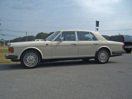 1986 ROLLS-ROYCE SILVER SPIRIT 4 DOOR SEDAN - Side Profile - 98613