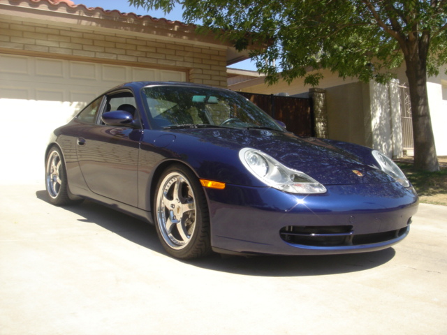 2001 PORSCHE 996 CUSTOM COUPE - Front 3/4 - 98753