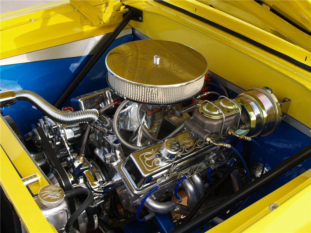1965 CHEVROLET CHEVY II CUSTOM COUPE - Engine - 98859