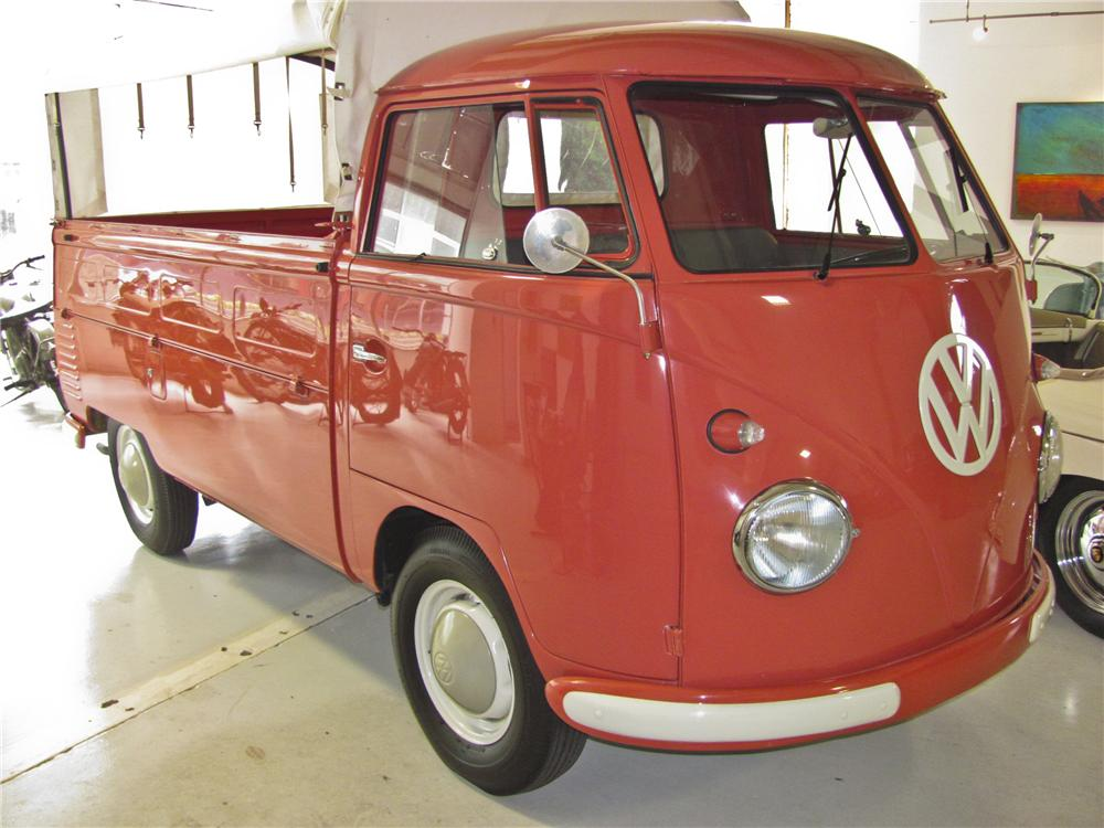 1962 VOLKSWAGEN TYPE III SINGLE CAB PICKUP - Front 3/4 - 98876