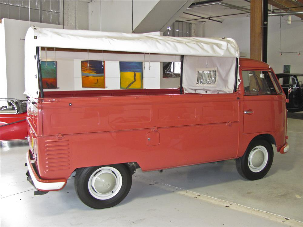 1962 VOLKSWAGEN TYPE III SINGLE CAB PICKUP - Side Profile - 98876