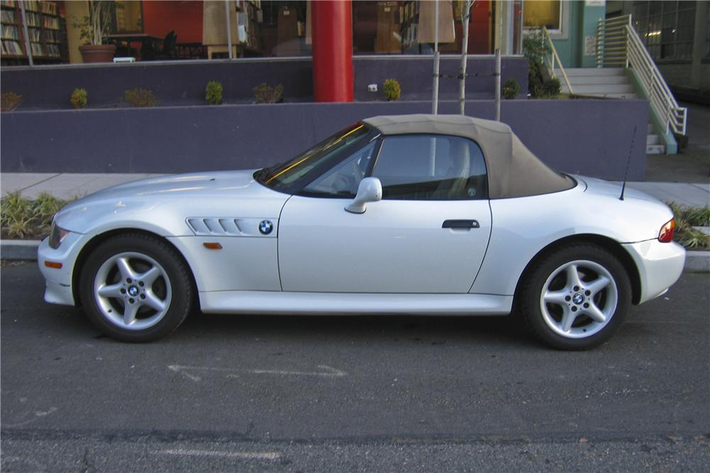 1997 BMW Z3 ROADSTER - Side Profile - 98878