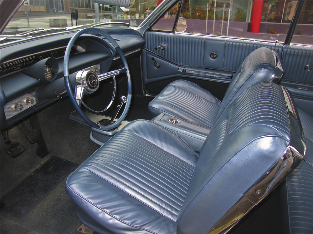 1964 CHEVROLET IMPALA 2 DOOR HARDTOP - Interior - 98879