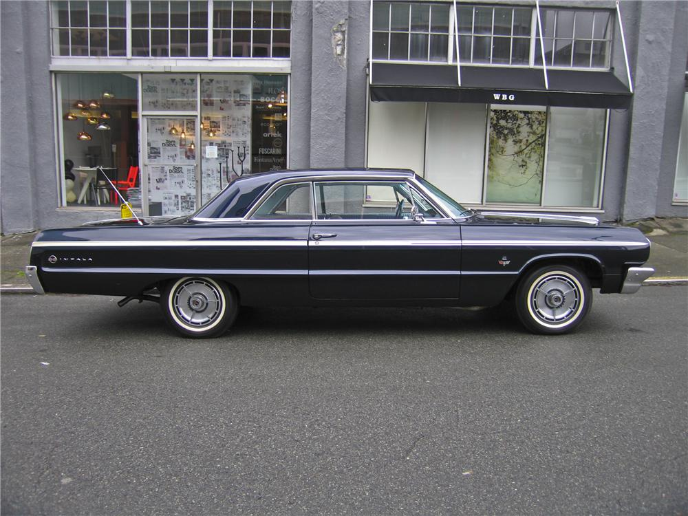 1964 CHEVROLET IMPALA 2 DOOR HARDTOP - Side Profile - 98879