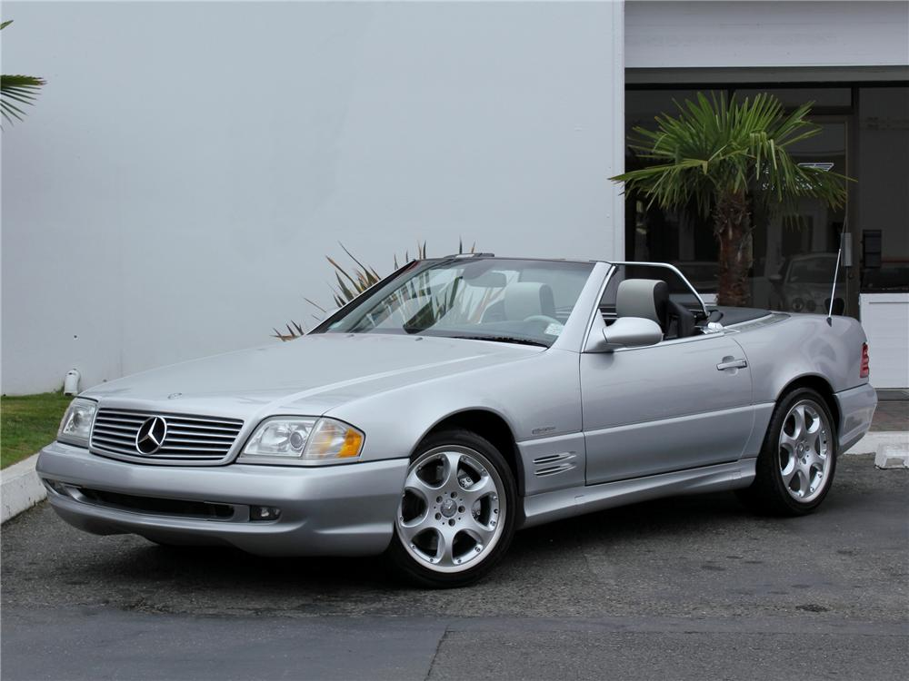 2002 MERCEDES-BENZ 500SL SILVER ARROW ROADSTER - Front 3/4 - 98980