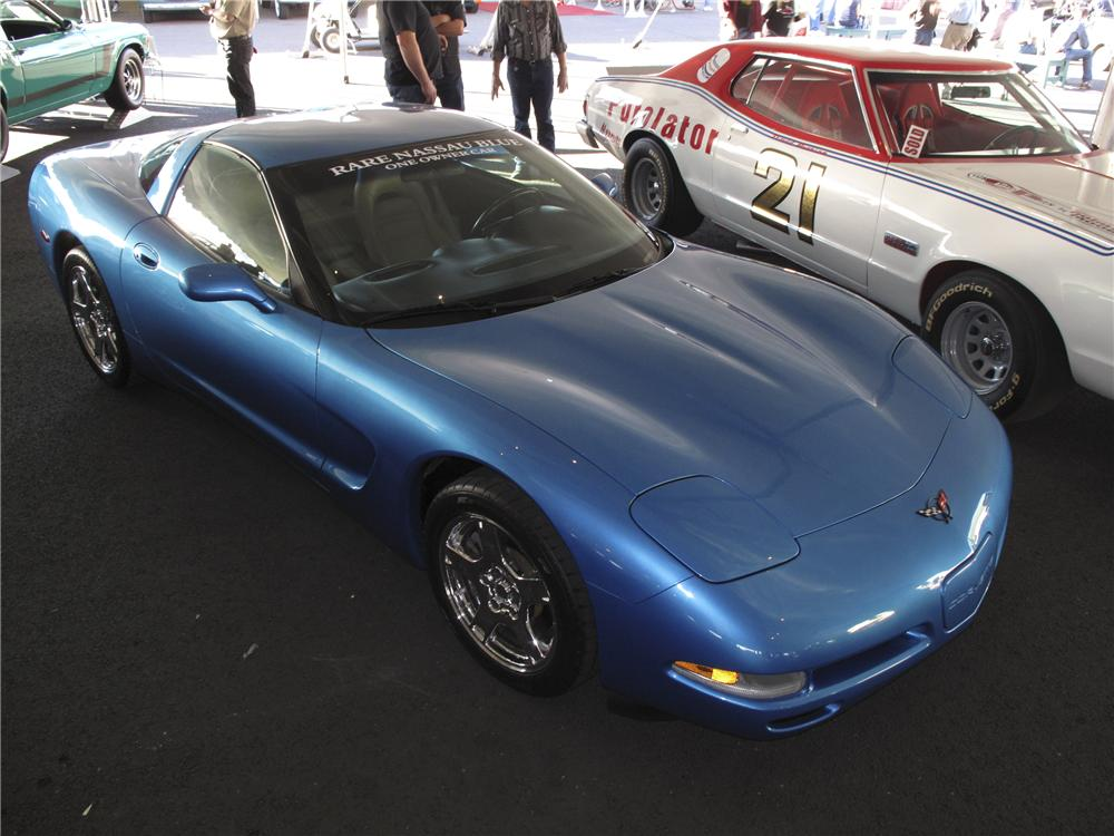 1998 CHEVROLET CORVETTE 2 DOOR COUPE - Front 3/4 - 99133