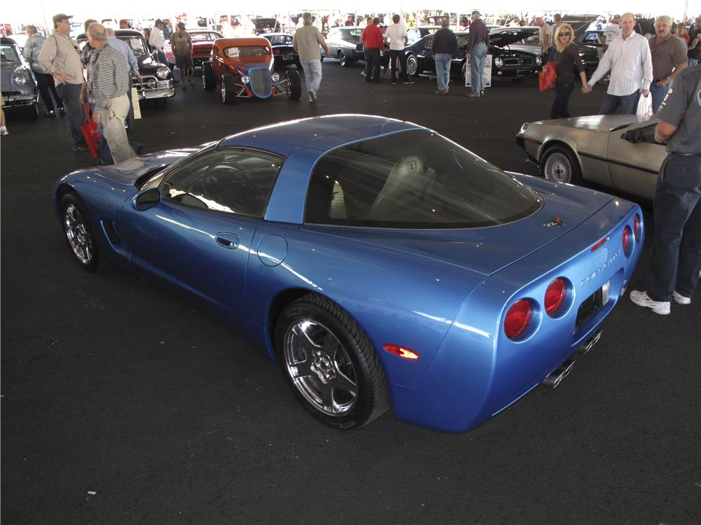 1998 CHEVROLET CORVETTE 2 DOOR COUPE - Rear 3/4 - 99133