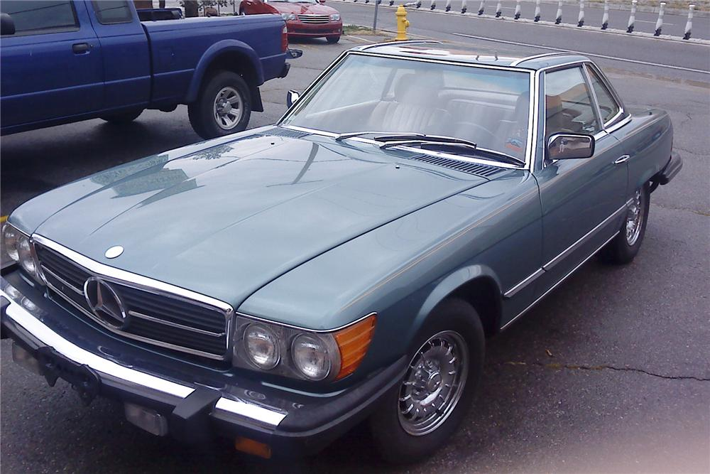 1984 mercedes benz 380sl convertible 99177
