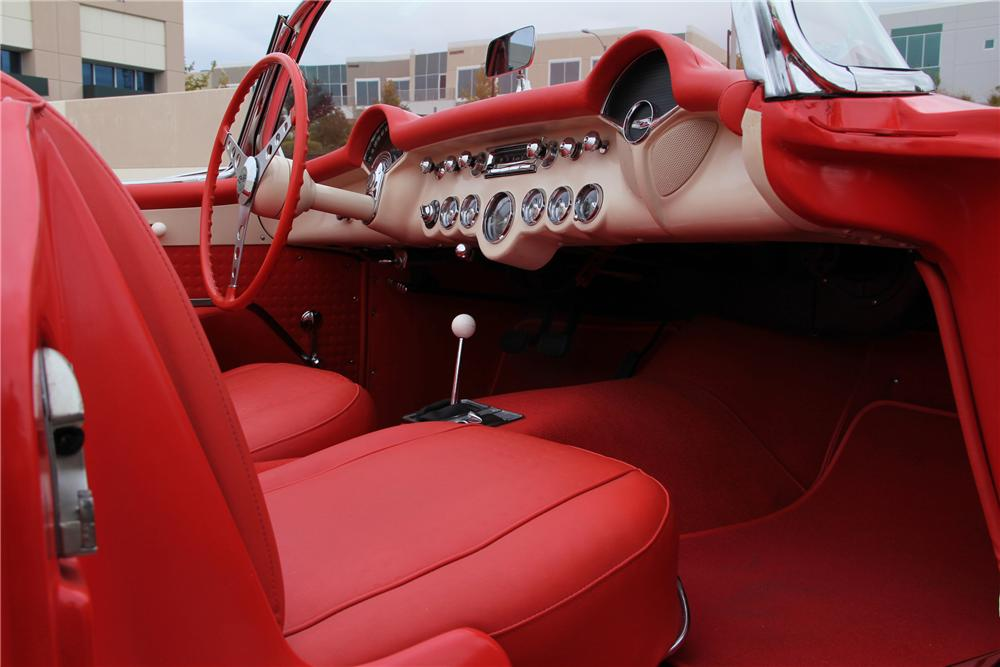 1957 CHEVROLET CORVETTE UNKNOWN - Interior - 99253