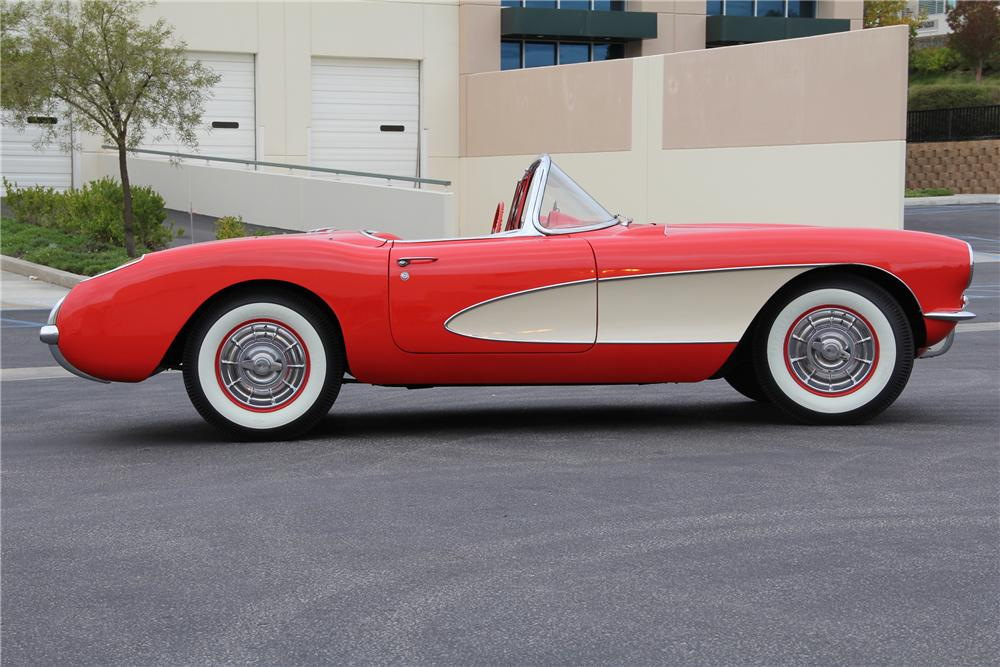 1957 CHEVROLET CORVETTE UNKNOWN - Side Profile - 99253
