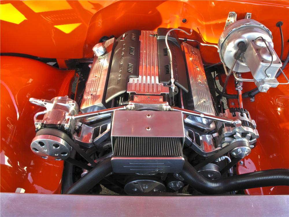 1971 CHEVROLET C-10 CUSTOM PICKUP - Engine - 99573