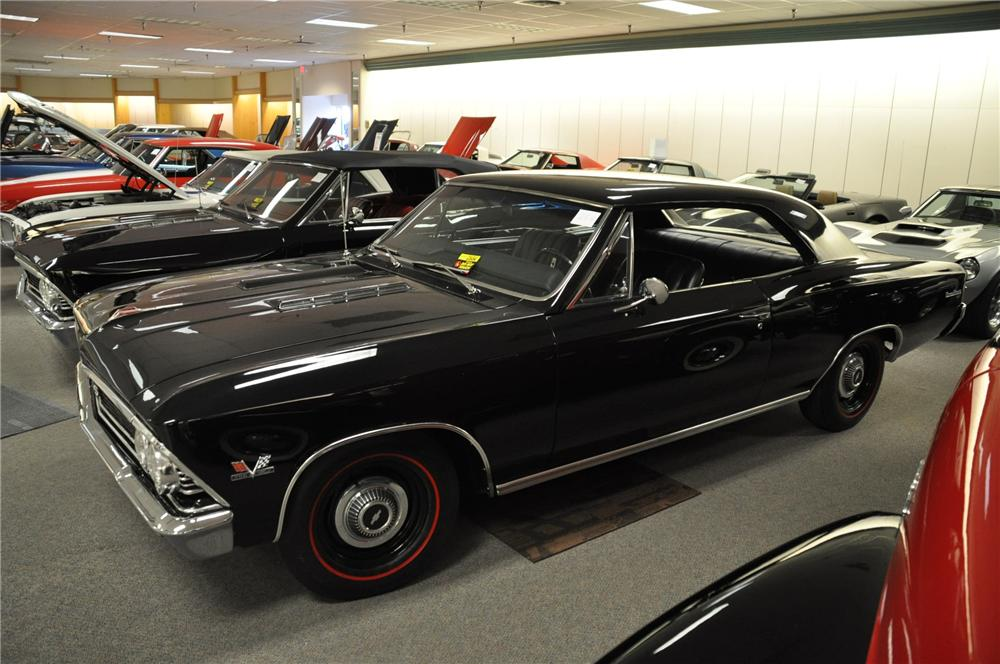 1966 CHEVROLET CHEVELLE 2 DOOR COUPE - Side Profile - 99974