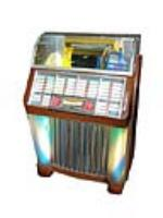 Amazing and fun 1952 Seeburg Model C 100 diner Jukebox.  Plays and sounds great!  Plays 50 records with 100 selections. - Front 3/4 - 109673
