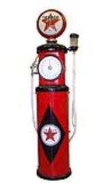 Museum quality 1930s Texaco Oil Tokheim model #850 restored clock face gas pump. - Front 3/4 - 116843