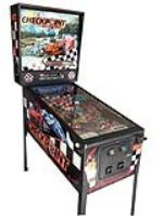 Wonderful Check Point racing themed pinball machine featuring Porsches and Corvettes. - Front 3/4 - 139846