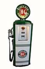 Eye appealing late 1940's-50's Sinclair Oil Tokheim model #39 restored service station gas pump. - Front 3/4 - 162772