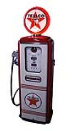 Immaculate 1950's Texaco Oil Tokheim model #39 restored service station gas pump. - Front 3/4 - 174860