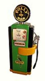 Exceptional Polly Oil Wayne model #100 restored service station gas pump - Front 3/4 - 177949