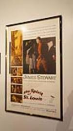 Original 1957 James Stewart The Spirit of St Louis motion picture poster by Warner Bros. - Front 3/4 - 179169