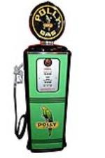 Good looking 1950s Polly Oil Tokheim model 300 restored service station gas pump. - Front 3/4 - 187833