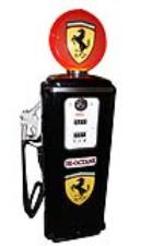 Exquisite 1950s Tokheim model #39 gas pump restored in Ferrari regalia. - Front 3/4 - 187838