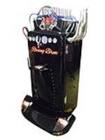 """Exquisitely restored and heavily customized Philco refrigerator retrofitted to serve as a """"kegerator"""" - Front 3/4 - 187891"""