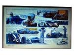 Bill Neil Shelby history lithograph signed by Carroll Shelby. - Front 3/4 - 188018