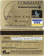 Aerosmiths Steve Tylers credit card, 1999. - 46469