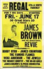 James Brown Chicago Regal Theatre Concert