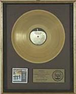 Beatles Something New Gold Record Award, 1964. - Front 3/4 - 47156