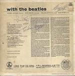 Rare Beatles fully signed with the beatles cover, circa 1963. RESERVE. - Front 3/4 - 47823