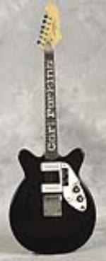 Carl Perkins owned and played Micro-Frets Calibra 2 guitar. - Front 3/4 - 47850
